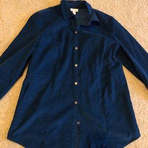 J Jill Corduroy Shirt